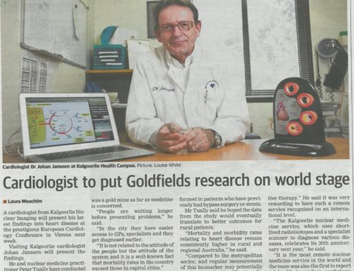 Cardiologist to put Goldfields Research on World Stage